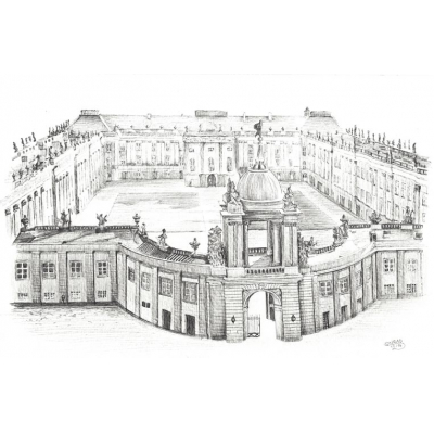 Illustration: Potsdamer Stadtschloss