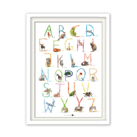 ABC Poster - Tiere