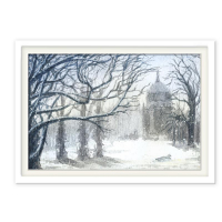 Fineartposter : Neues Palais im Winter