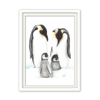 Fineart Tierposter - Pinguine
